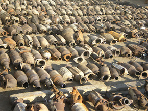 Catalytic Converter Scrap Price >> Ozzy Metals - CAT CONVERTER RECYCLING SPECIALISTS - Used Catalytic Converter Recycling